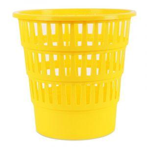 Kosz na śmieci OFFICE PRODUCTS, ażurowy, 16l, żółty