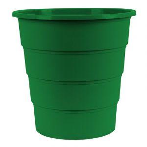 Kosz na śmieci OFFICE PRODUCTS, pełny, 16l, zielony
