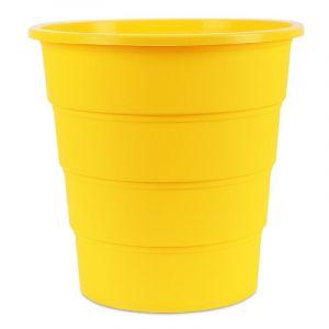 Kosz na śmieci OFFICE PRODUCTS, pełny, 16l, żółty