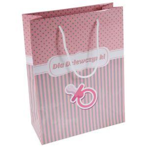 Torebka na prezenty OFFICE PRODUCTS, laminowana, 24x10x32cm, dziecięca, mix wzorów