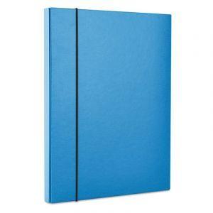 Teczka-pudełko z gumką OFFICE PRODUCTS, PP, A4/30, niebieska