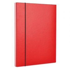 Teczka-pudełko z gumką OFFICE PRODUCTS, PP, A4/30, czerwona