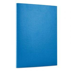 Teczka z rzepem OFFICE PRODUCTS, PP, A4/1,5cm, 3-skrz., niebieska