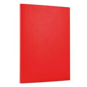 Teczka z rzepem OFFICE PRODUCTS, PP, A4/1,5cm, 3-skrz., czerwona