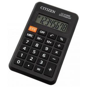 Pocket calculator CITIZEN LC310NR, 8 digits, 114x69mm, black