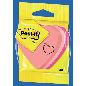 Post-it® Specialty Notes Heart 70 mm x 70 mm