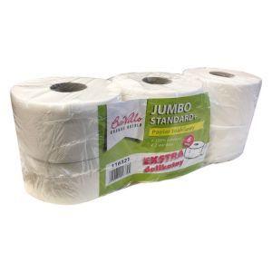 Papier toaletowy JUMBO BaVillo Standrd+ BIG ROLA celuloza, 2 warstwy, opakowanie 6 rolek