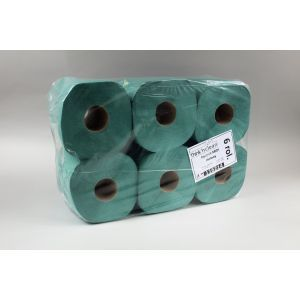 Ręcznik rola MIDI zielony 19cm, cena za pakowanie 6rolek