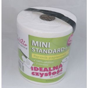 Ręcznik rola MINI BaVillo Standard+ 300, celuloza, cena za opakowanie 6 rolek