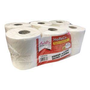 Papier toaletowy JUMBO BaVillo HoReCa+ BIG ROLA celuloza, 2 warstwy, opakowanie 12 rolek