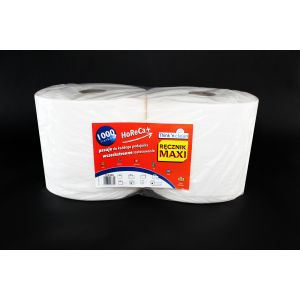Ręcznik rola MAXI HoReCa+ 1000 TnC 1000 listków 2W celuloza 240m op. 2 rolki