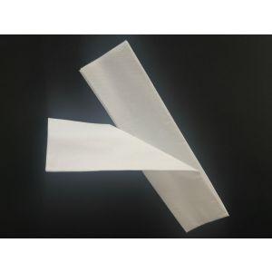 Serwetki do konfekcji sztućców 33x33cm biała składane 1/16 opakowanie 1000szt (k/8)