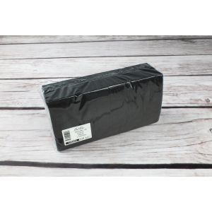 Serwetki 24x24 2W BaVillo czarne op. 200 sztuk