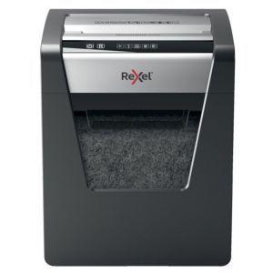 Paper shredder Rexel Momentum X415, confetti, P-4, capacity15 sheets, 23l, black