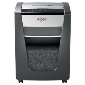 Paper shredder Rexel Momentum X420, confetti, P-4, capacity 20 sheets, 30l, black