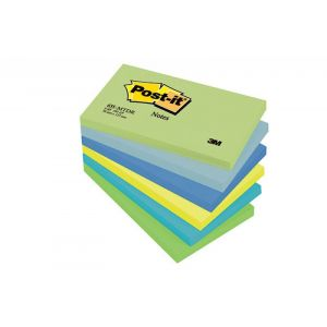 Post-it® Notes Dreamy Colours, 6 Pads, 76 mm x 127 mm