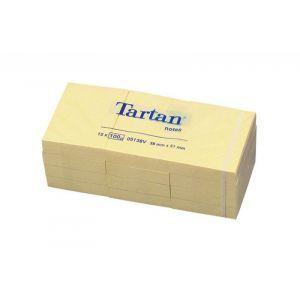 Bloczek samoprzylepny TARTAN™ (05138), 38x51mm, 12x100 kart., żółty