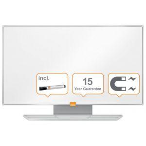 """Tablica suchoś. -magn. NOBO Nano Clean™, 72x41cm, panoramiczna 32"""", stal lakierowana, rama aluminiowa"""