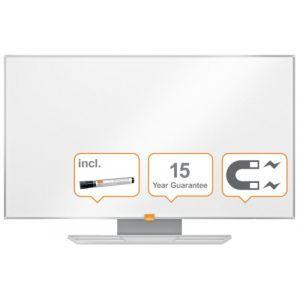 """Tablica suchoś. -magn. NOBO Nano Clean™, 90x51cm, panoramiczna 40"""", stal lakierowana, rama aluminiowa"""