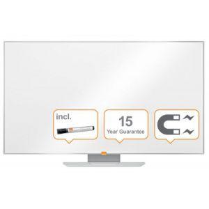 """Tablica suchoś. -magn. NOBO Nano Clean™, 123x70cm, panoramiczna 55"""", stal lakierowana, rama aluminiowa"""