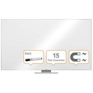 """Tablica suchoś. -magn. NOBO Nano Clean™, 189x107cm, panoramiczna 85"""", stal lakierowana, rama aluminiowa"""