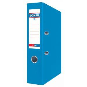 Segregator DONAU Life, neon, A4/75mm, niebieski