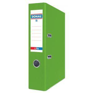 Segregator DONAU Life, neon, A4/75mm, zielony