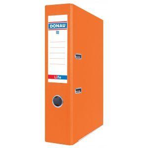 Segregator DONAU Life, neon, A4/75mm, pomarańczowy