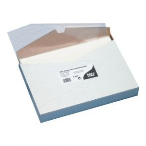 Fat-tight wrapping paper, 32 cm x 22 cm, white, price per pack of 1000 sheets