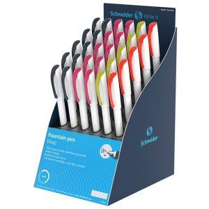 Fountain pen display SCHNEIDER Xpect Vivaz, 30pcs, color mix