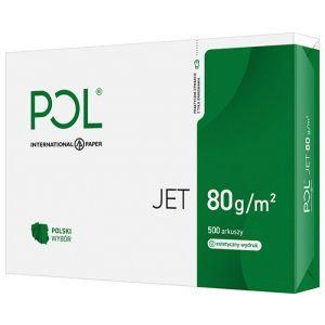 Papier kserograficzny IP POL JET, A3, klasa A, 166CIE, 80gsm, 500ark.