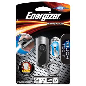 Latarka ENERGIZER Keychain Led + 2szt. b aterii CR2032, srebrna
