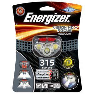 Latarka czołowa ENERGIZER Vision HD Plus  Focus Headlight + 3szt. baterii AAA, sz
