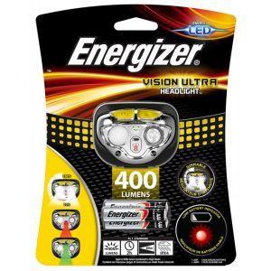 Latarka czołowa ENERGIZER Vision Ultra H eadlight + 3szt. baterii AAA, żółta