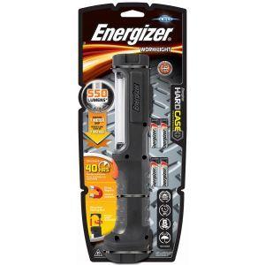 Latarka ENERGIZER Hard Case Pro Work + 4 szt. baterii AA, czarna