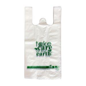 Reklamówki biodegradowalne eko 30/9/60 op.50szt (k/10) OKCompst, TC, TnG