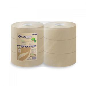 Papier toaletowy EcoNatural 300 LUCART 300m, 2W JUMBO op. 6 rolek