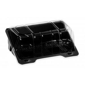 Pojemnik cukierniczy PET SL BL1508 czarne dno, cena za opakowanie 320szt