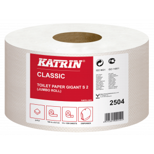 Toilet Paper 10680 Katrin Classic Gigant S 2 12 pieces