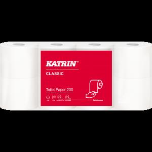 Toilet paper 10474 Katrin Toilet 200, 2 layer, 56 rolls