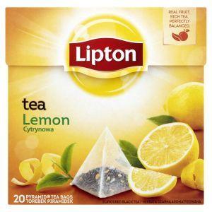 Tea LIPTON, piramidki, 20 bags, lemon
