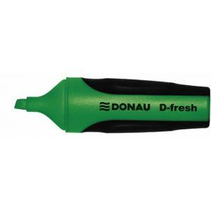 Zakreślacz fluorescencyjny DONAU D-Fresh , 2-5mm(linia), zielony