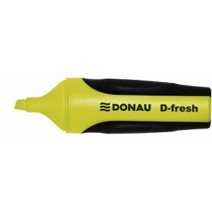 Zakreślacz fluorescencyjny DONAU D-Fresh , 2-5mm(linia), żółty