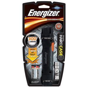 Latarka ENERGIZER Hard Case Profesional Led + 2szt. baterii AA, czarna