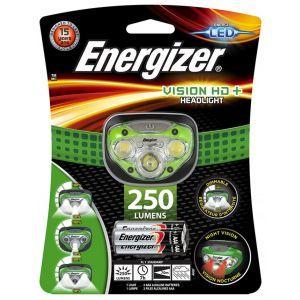 Latarka czołowa ENERGIZER Headlight 7 Led + 3szt. baterii AAA, czarna