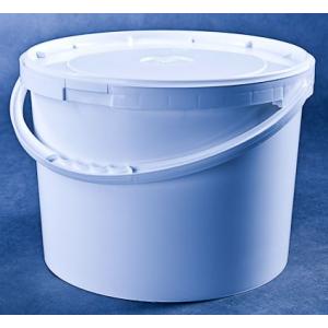 Wiaderko plastikowe PP 15L białe, cena za 25 sztuk