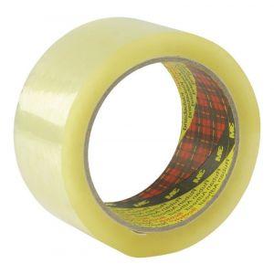 Taśma pakowa do magazynowania SCOTCH® (3 09 TSP), mocna, 50mm, 66m, transparentna