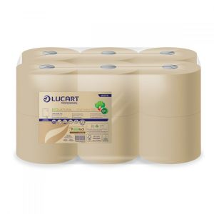 Papier toaletowy EcoNatural L-ONE LUCART 180m, 2W, JUMBO - MINI 180 op. 12 rolek