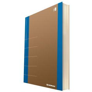 Notatnik DONAU Life, organizer, 165x230m m, 80 kart., niebieski