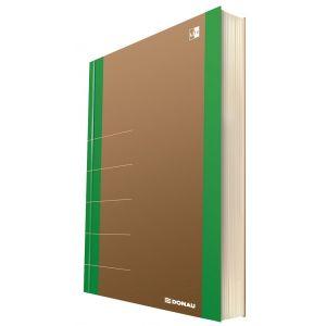 Notatnik DONAU Life, organizer, 165x230m m, 80 kart., zielony